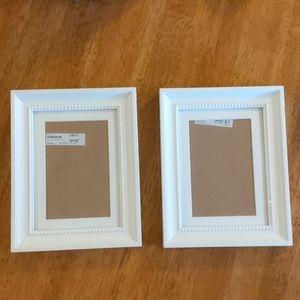 Matching set of Ikea Söndrum picture frames 5x7
